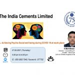 The India Cements Ltd. Achieving Psycho-Social well being During COVID-19