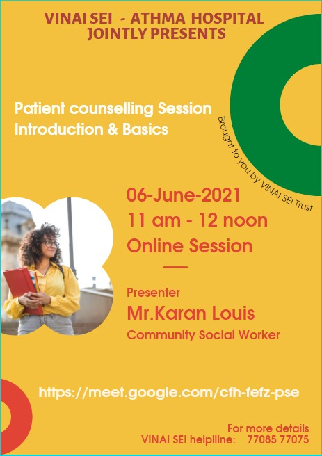 Basic Patient Counselling Techniques during COVID-19